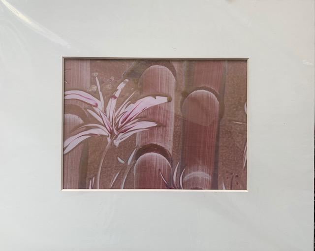 Bambus-vio-A5 Enkaustik