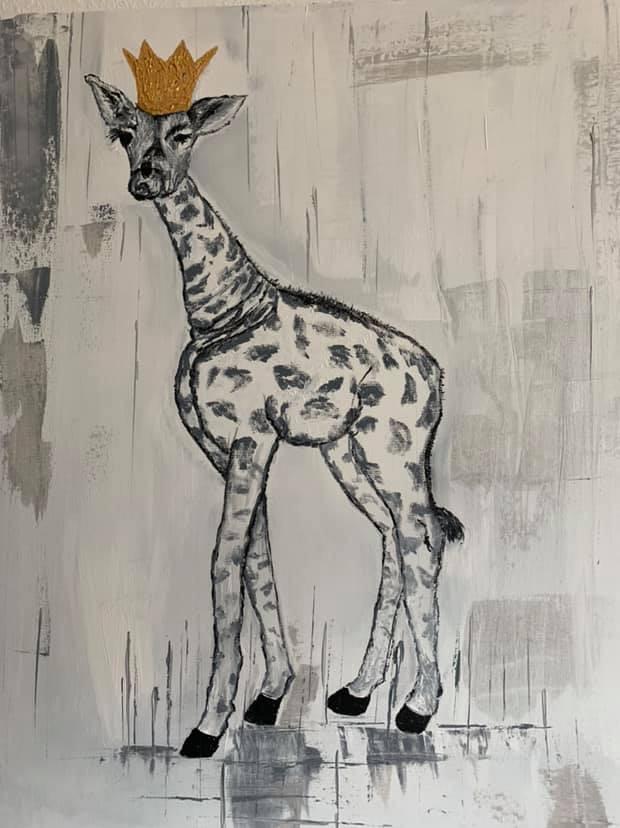 Baby_Giraffe 60x80 Acryl